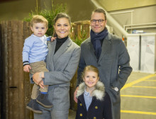 Kronprinsessan med familj på besök