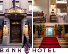 BANK HOTEL, ETT AV VÄRLDENS BÄSTA NYA HOTELL ENLIGT TRAVEL AND LEISURE
