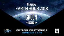 Happy Earth Hour på MAX med halva priset på Green-familjen