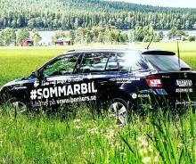 # Sommarbilen - en bild för en bil