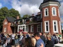 BoKlok fanns på plats vid invigningen av Stiftelsen Botildenborgs nyrenoverade lokaler