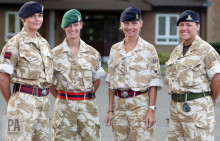 EXPERT COMMENT: Lest we forget: women also serve in the armed forces