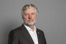 Peter Eriksson (MP) deltar i Växjö kommuns paneldebatt om bostadskrisen