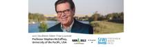 Ragn-Sells gratulerar Stephen McCaffrey till årets Stockholm Water Prize