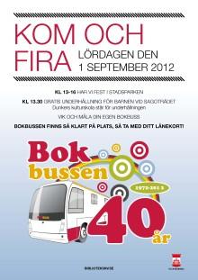 Bokbussen fyller 40 år!