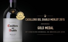 Guld till Casillero del Diablo Merlot i Concours Mondial