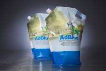 AdBlue® fra Arom-dekor Kemi, nå også i 4 l pose.
