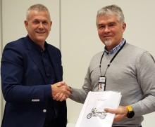 Handicare er valgt som leverandør av motorsykler til Politiet