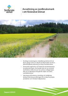 Avvattning av jordbruksmark i ett framtida klimat
