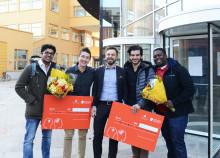 Studenter utmanades i teknik och entreprenörskap