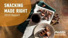 Mondelēz International presenterar Snacking Made Right rapport
