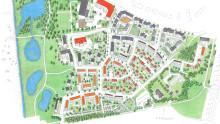 Nytt bostadsområde med 500 bostäder
