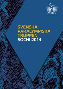 Sveriges Paralympiska Kommitté publicerar mediematrikel inför Paralympics i Sotji