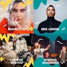 Tio lysande akter i Malmöfestivalens andra artistsläpp!