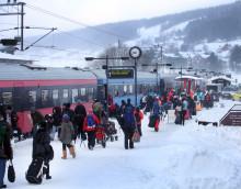 SJ ordnar skidspår mellan Stockholm och Åre