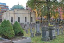 Mosaiska kapellet och begravningsplatsen blir byggnadsminne