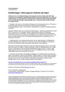 Värdebarometern 2015 Stenungsunds kommun