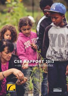 CSR rapport 2013- En hållbarhetsredovisning
