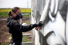 GRAFFITI KUNSTENS NYE BERLINMUR