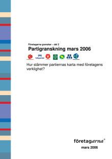 Partigranskning mars 2006