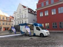 Beratungsmobil der Unabhängigen Patientenberatung kommt am 3. Juli nach Greifswald.