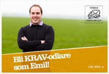 KRAV skickar vykort till svenska spannmålsodlare