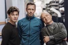 Rasmus Luthander filmar ny Gardell-serie för SVT