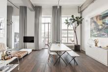 Uppmärksammad lägenhet i Läderfabriken såld