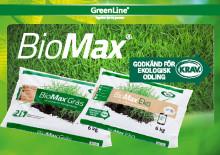 BioMax gödningsserie från GreenLine!