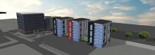 Eidar tecknar avtal med Serneke om nya studentlägenheter på Innovatumområdet
