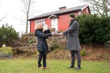 Jakob Nord i Lunnahöja vann ett nytt tak