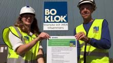 BoKlok-fabriken Gullringen vinner guld i grönt arbete