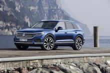 Nya Volkswagen Touareg får femstjärnigt toppbetyg av Euro NCAP