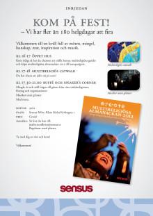 Kom på fest den 30 november 2011