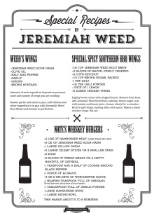 Recept Jeremiah Weed