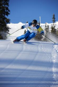 Mænd føler sig bedst på ski