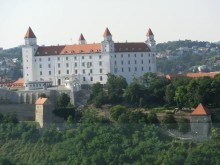 Dag 2 på tågresan: Bratislava