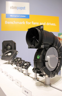 Fläktar, elmotorer och växlar i monter A03:26 på Subcontractor 2018
