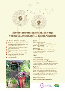Inbjudan till Elmia Garden 2012