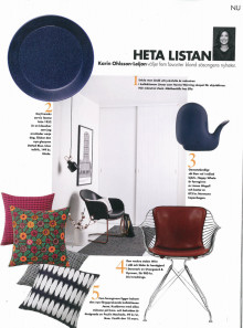 Heta listan Elle Decoration nr 1, 2017.