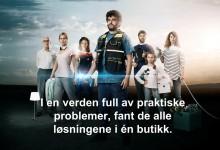 Premiere for Clas Ohlsons nye reklamesatsing - «De Nyttige»