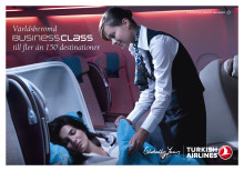 Bästa Business Class i Europa – Turkish Airlines