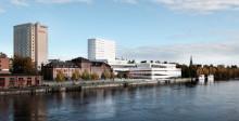 SSC levererar produkter och kompetens  till Umeås nya landmärke Väven