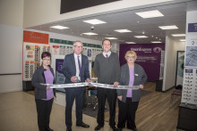 Local MP Ian Austin joins Vision Express to officially open its new optical store at Tesco in Dudley