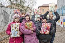 Aktion Julklappen ger utsatta barn i östra Europa en ljusare jul