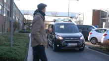 Ford testet Lichtsignale für die Kommunikation zwischen autonomen Fahrzeugen und Fußgängern