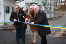 Invigning av 54 studentlägenheter vid Väsby station