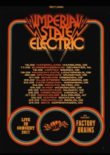 IMPERIAL STATE ELECTRIC  fortsätter kampen mot populärmusikens medelmåtta!