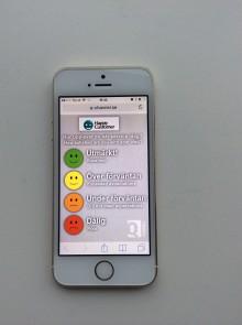 Kundenkäten HappyCustomer? kan användas på smartphone