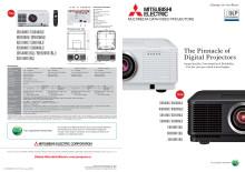 Samlingsbroschyr till UD8400U, WD8200U och XD8100U från Mitsubishi Electric